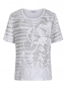 Geschmücktes Print-Shirt