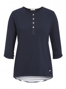 Shirt im Marine-Look