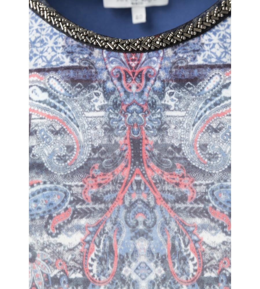 Modisches Shirt mit bedrucktem Vorderteil 18132-663 detail1