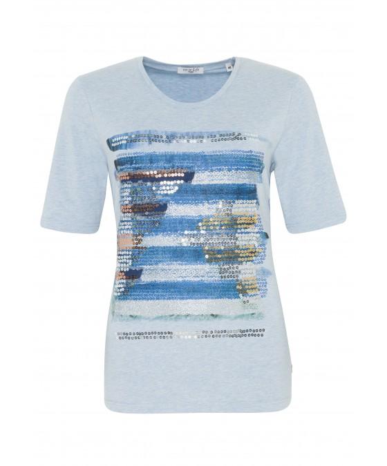 Trendiges Shirt mit Pailletten 18260-614 front
