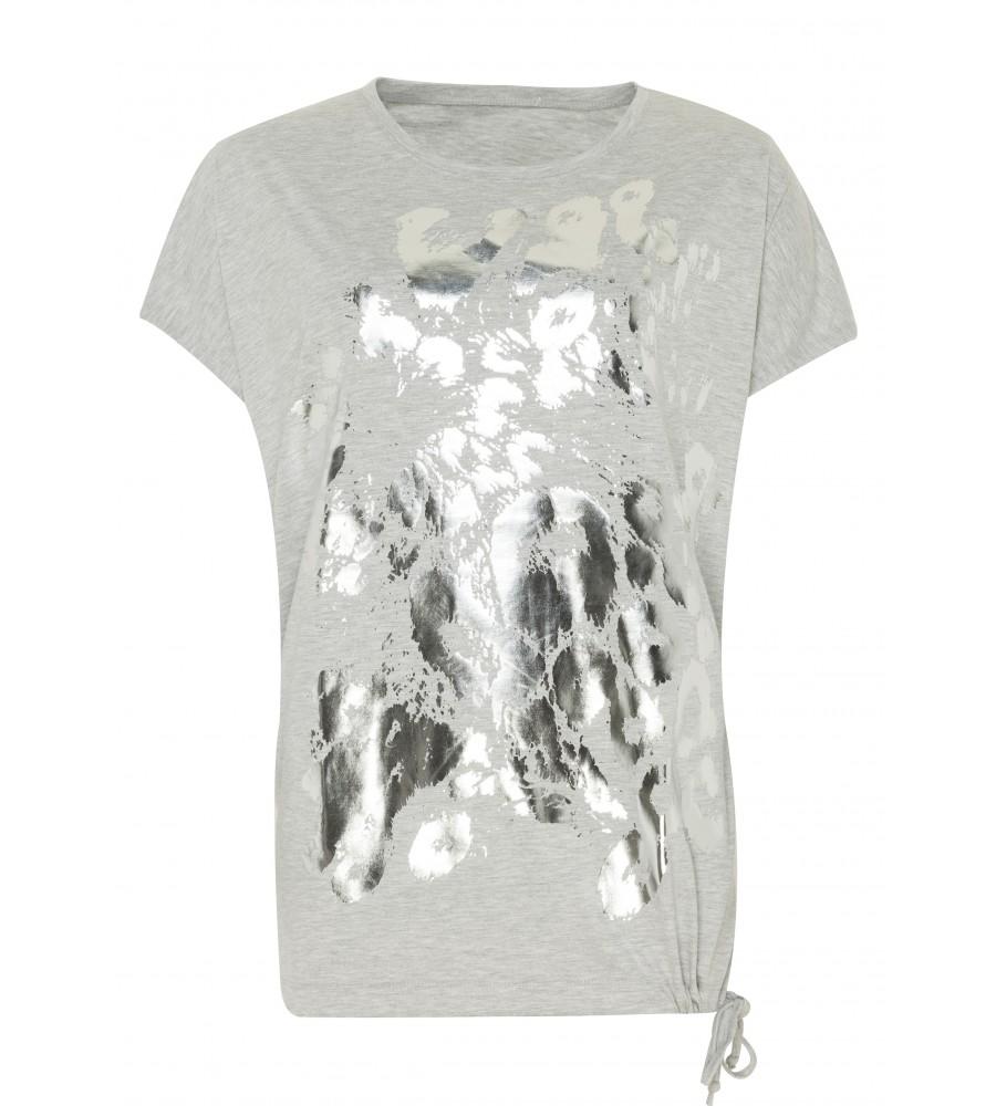 Brandaktuelles Shirt mit Metallic-Print 18350-109 front