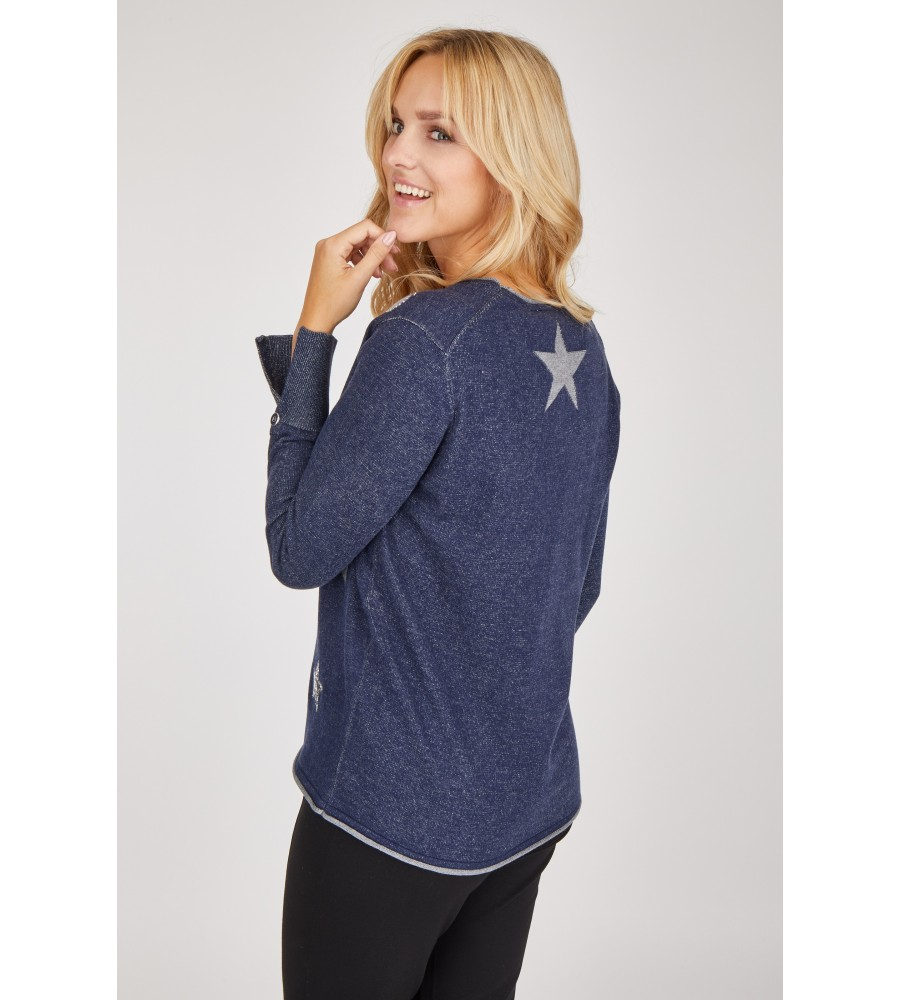 Pullover langarm 18409-609 back
