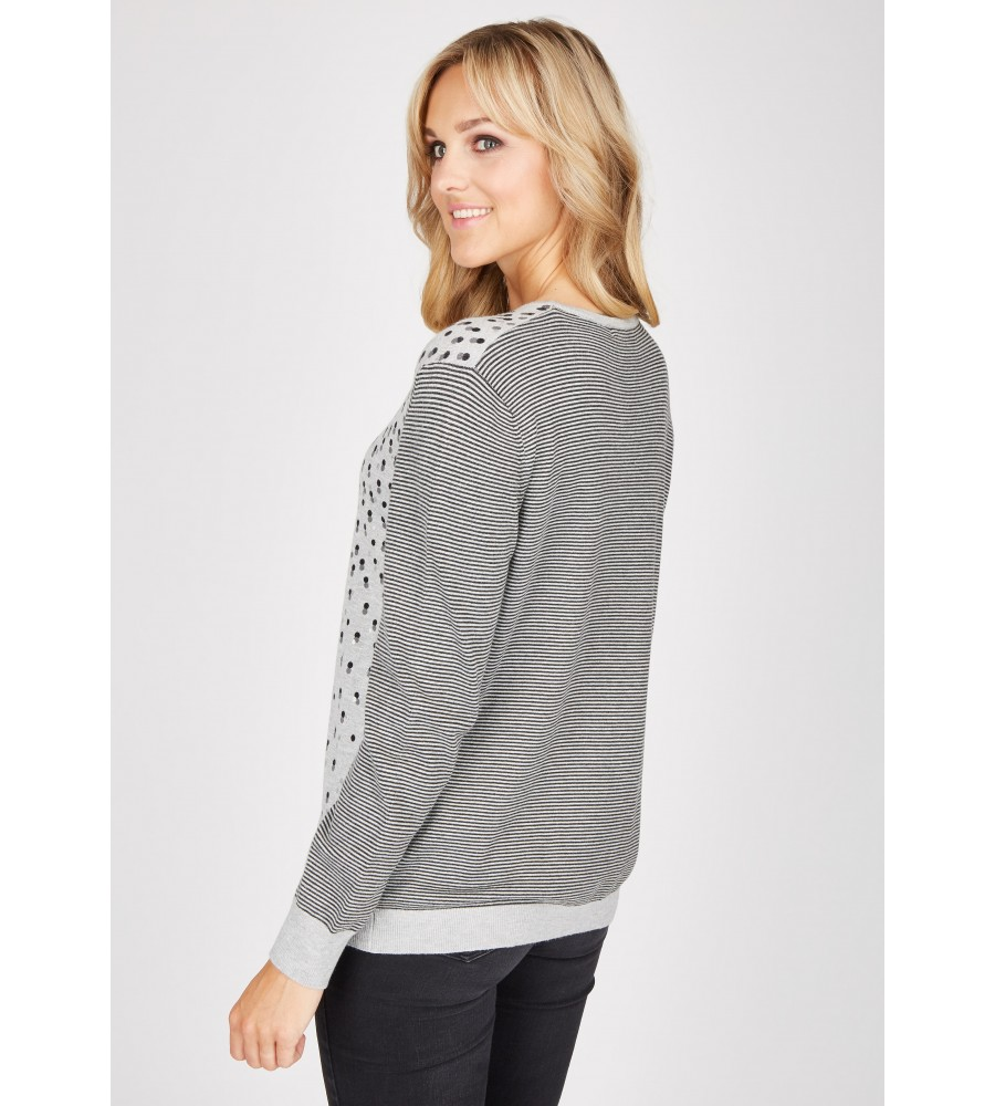 Pullover langarm 18422-104 back