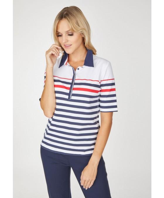 Poloshirt Jersey Baumwolle 18561-634 front