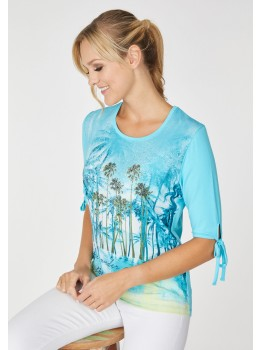 Blusenshirt mit Bündchen