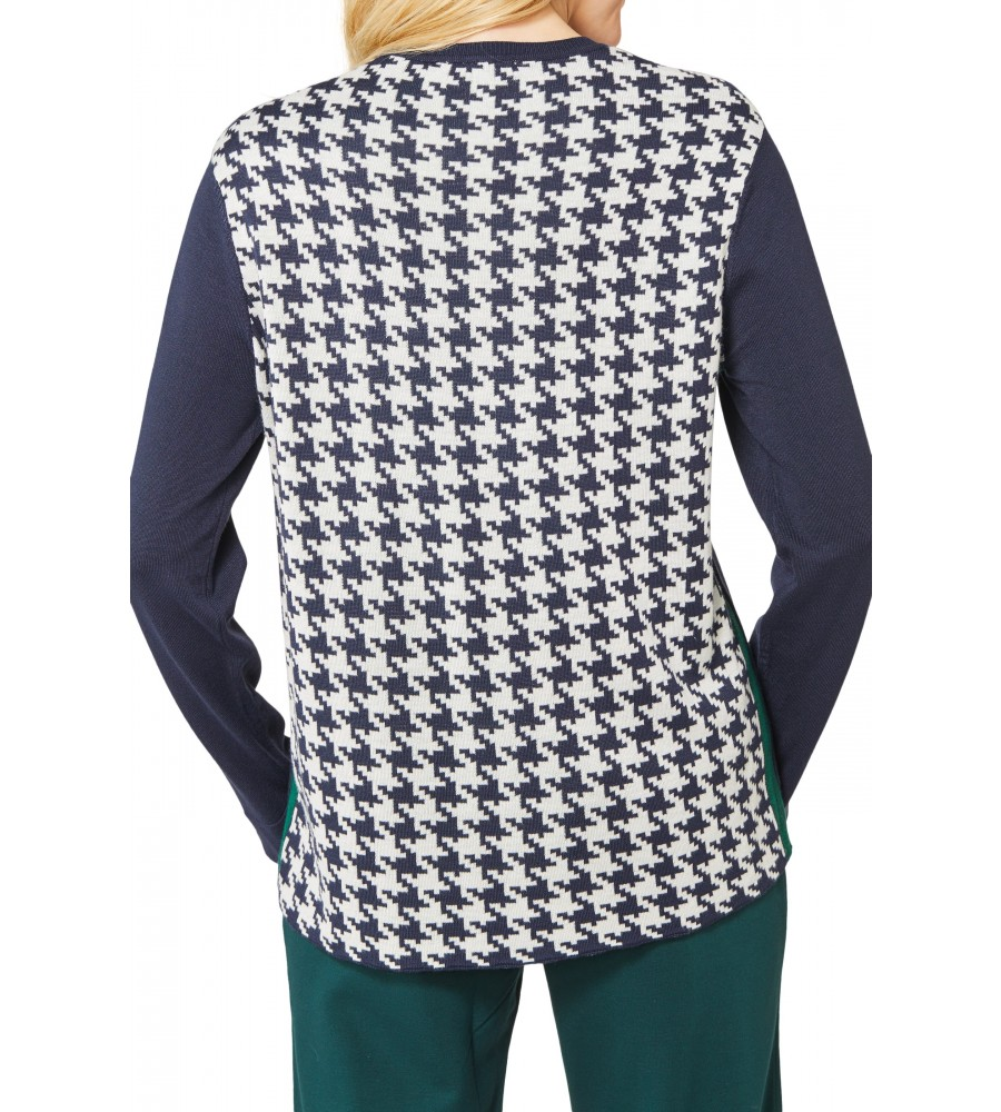 Rundhals Pullover 18643-609 back