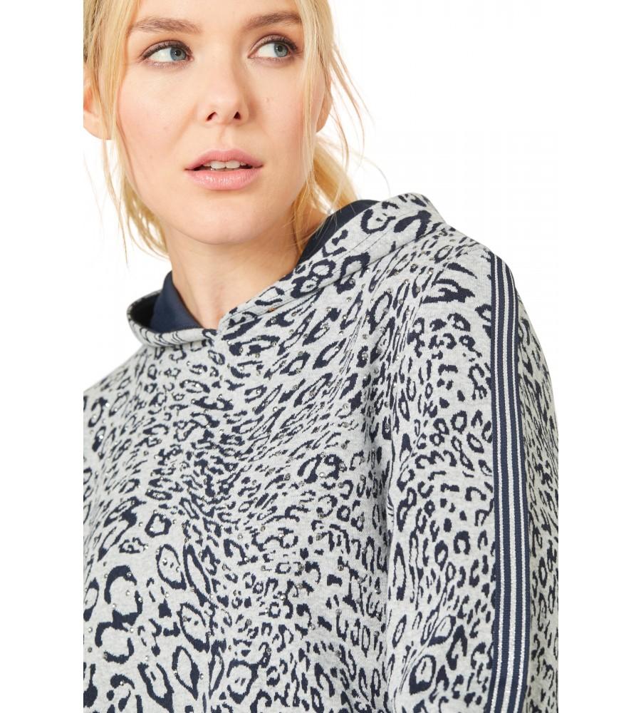 Sweatshirt mit Kapuze 18694-648 back