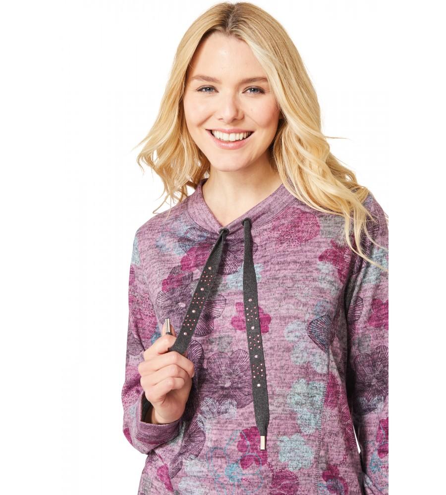 Sweatshirt mit Rollkragen 18728-704 back