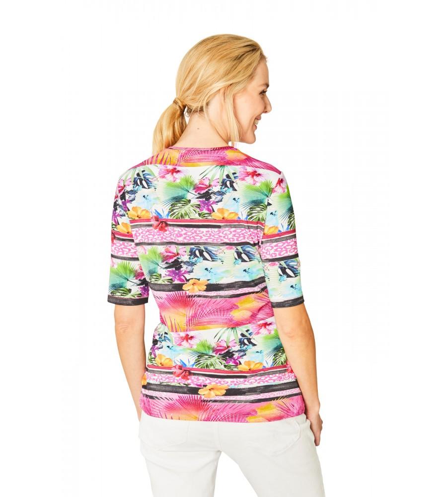 Hochwertiges Shirt Halbarm 18833-329 back