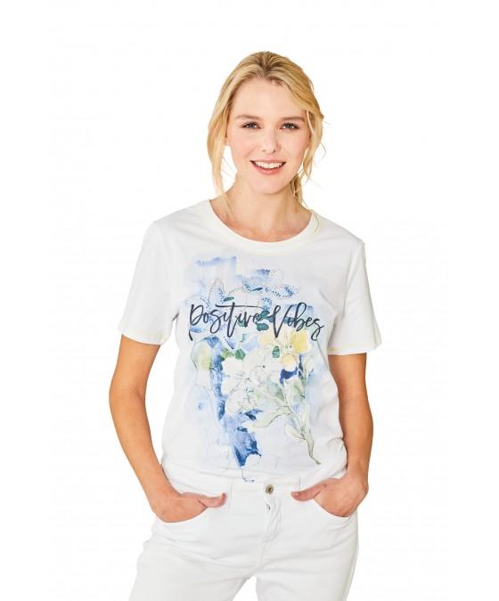 Feminines Shirt Rundhals Halbarm 18839-680 front