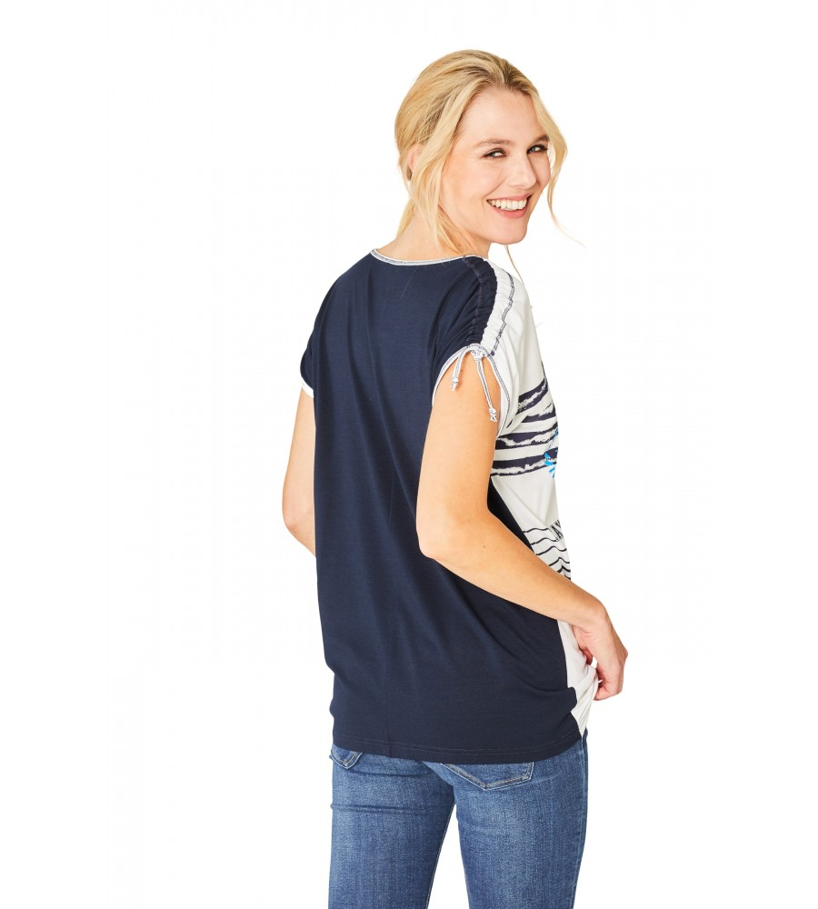 Hochwertiges Shirt Rundhals 18850-609 back