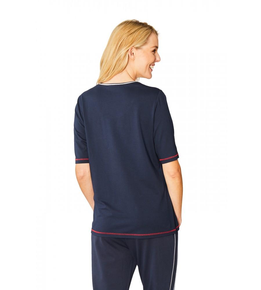 Hochwertiges Shirt Halbarm 18880-609 back