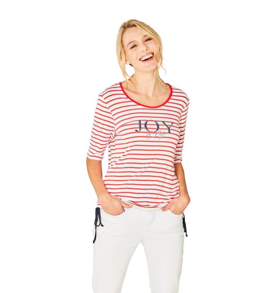 Sportives Shirt Rundhals Halbarm 18881-343 front
