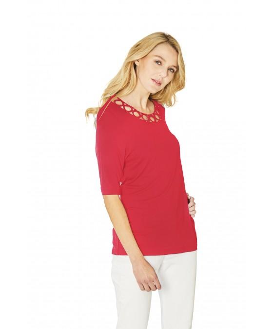 Hochwertiges Shirt Halbarm 18891-343 front