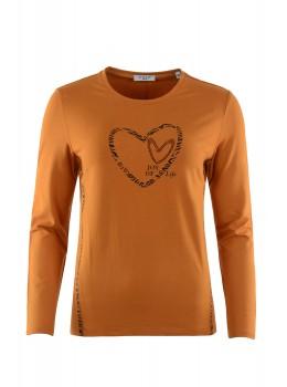 Shirt mit Folienapplikation