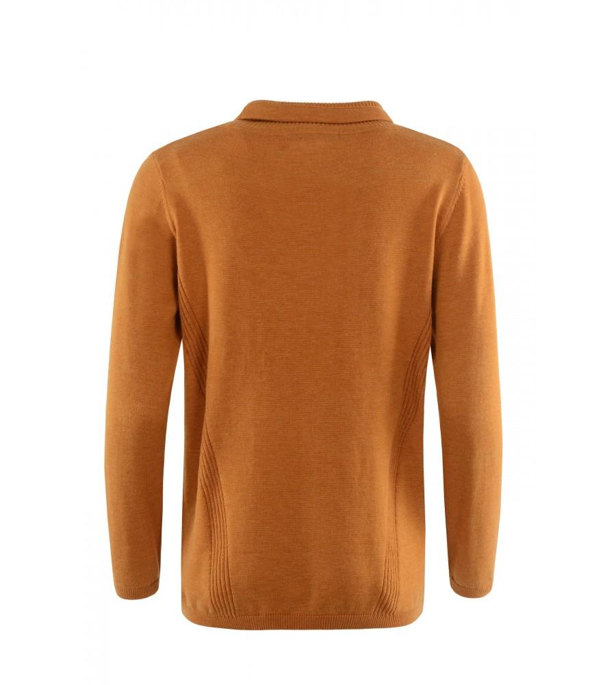 Pullover mit halsfernem Rollkragen 18928-405 back