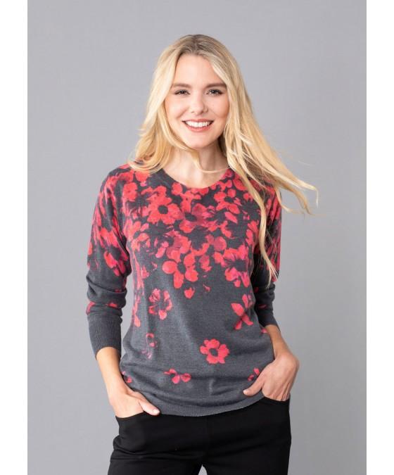 Pullover mit Bordürendruck 18950-119 front