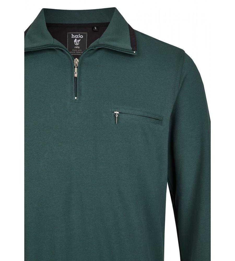Sweatshirt mit Troyerkragen 20023-6-515 detail1