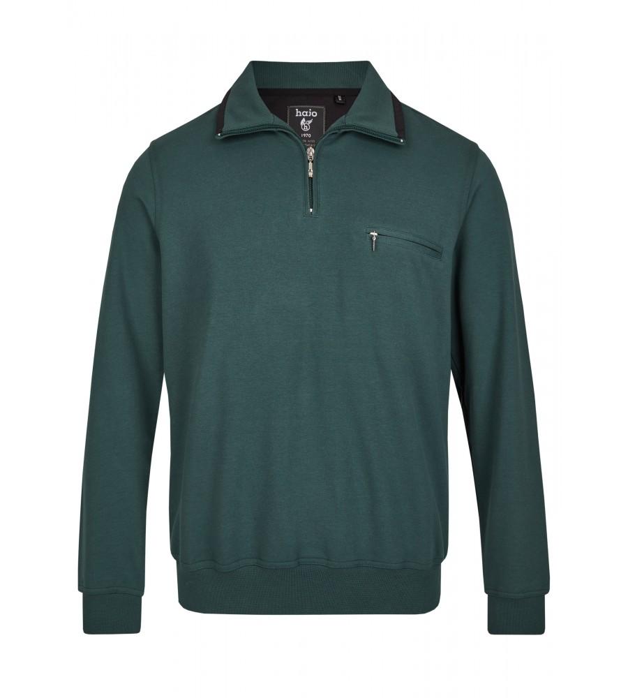 Sweatshirt mit Troyerkragen 20023-6-515 front