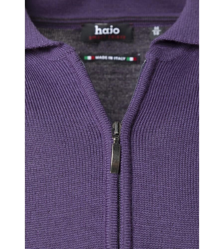 Polo-Pullover mit Baumwoll-Innenseite 20030-700 detail1