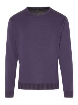 Pullover mit Baumwoll-Innenseite