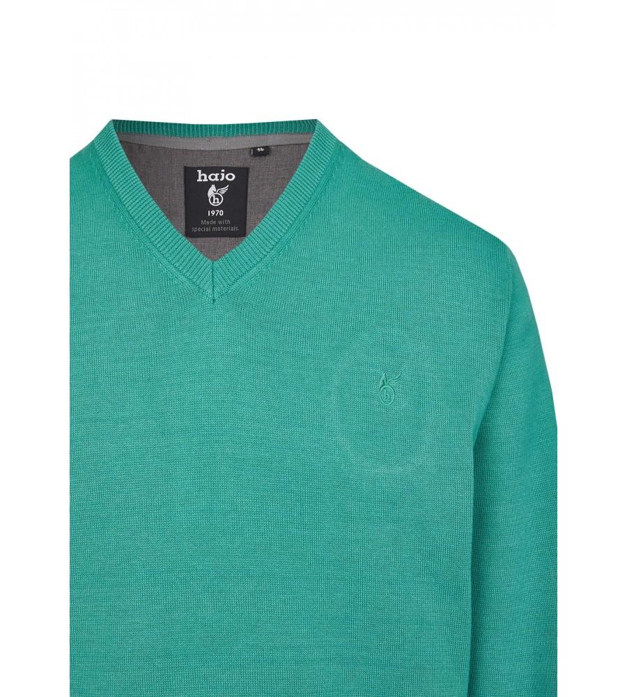 Pullover mit V-Ausschnitt in großen Größen 20076-1X-526 detail1