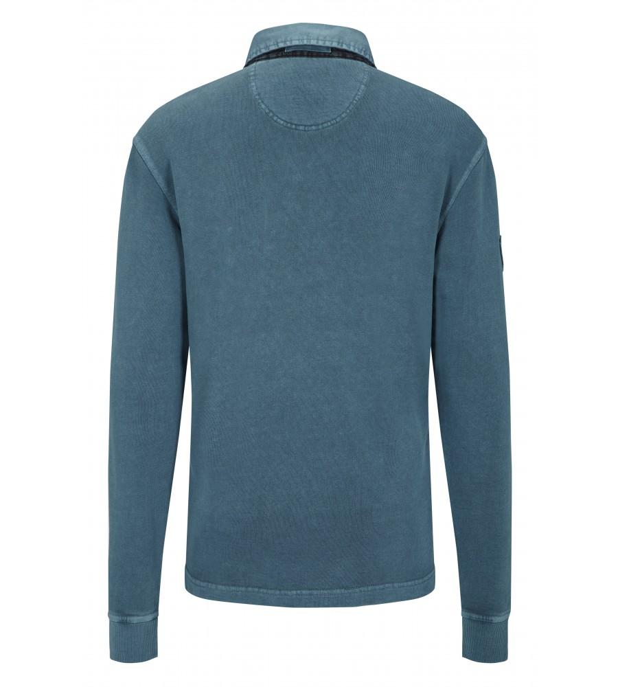 hajo Polo & Sportswear Sportliches Washer-Rugby-Shirt 25750-750 back