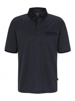 Poloshirt, dopp.merzerisiert