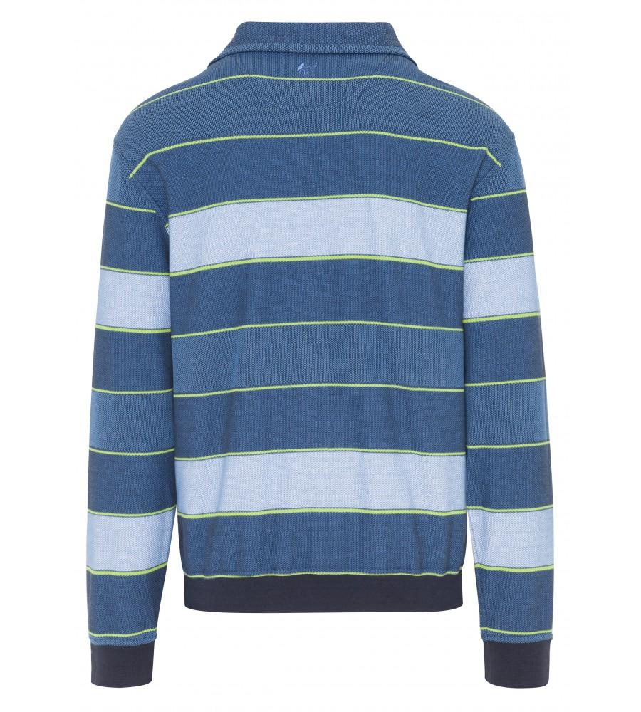 Troyer-Sweatshirt mit Ringeln 26074-600 back