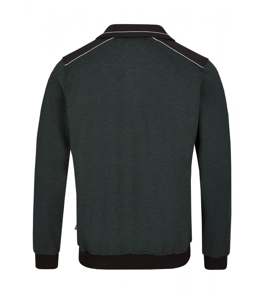 Sweatshirt mit Troyerkragen 26222-515 back