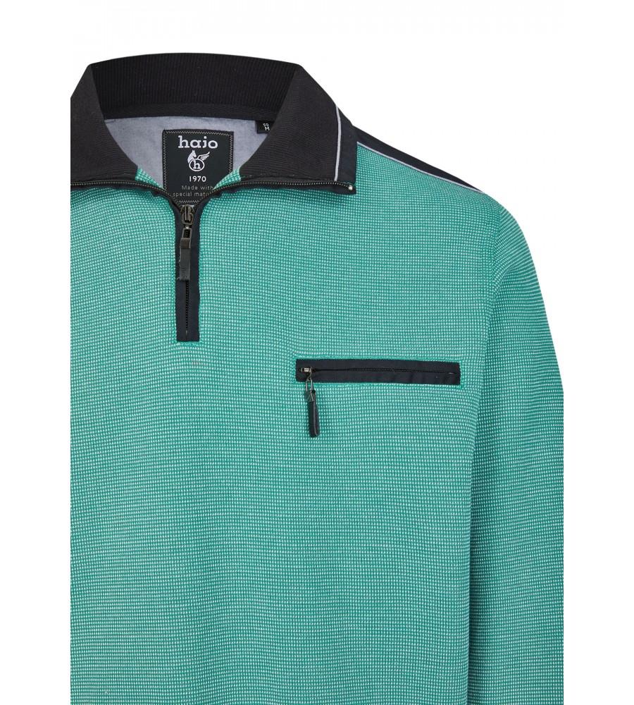 Sweatshirt mit Troyerkragen 26222-526 detail1