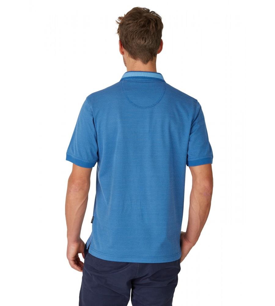 Jacquard-Poloshirt 26620-600 back