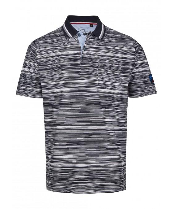 Poloshirt in garngefärbtem Effektgarn 26623-609 front