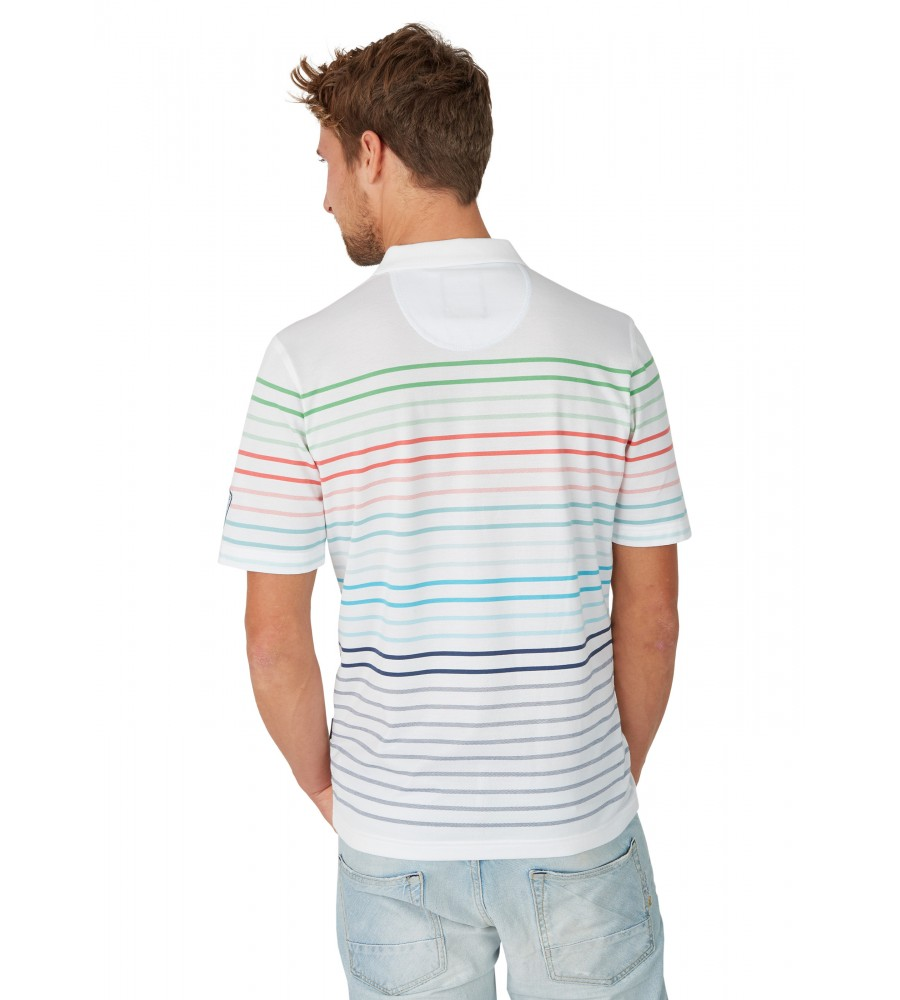 Pikee-Poloshirt mit Systemringel 26627-200 back