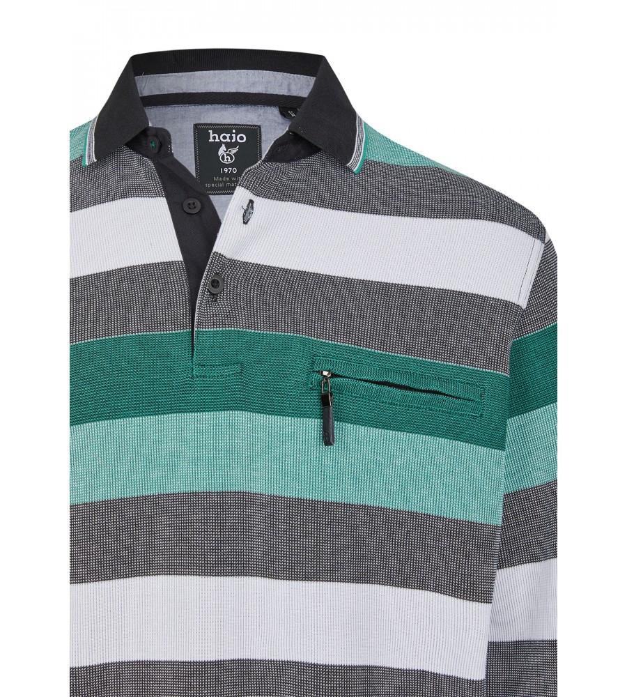 Sweatshirt mit Polokragen 26651-100 detail1