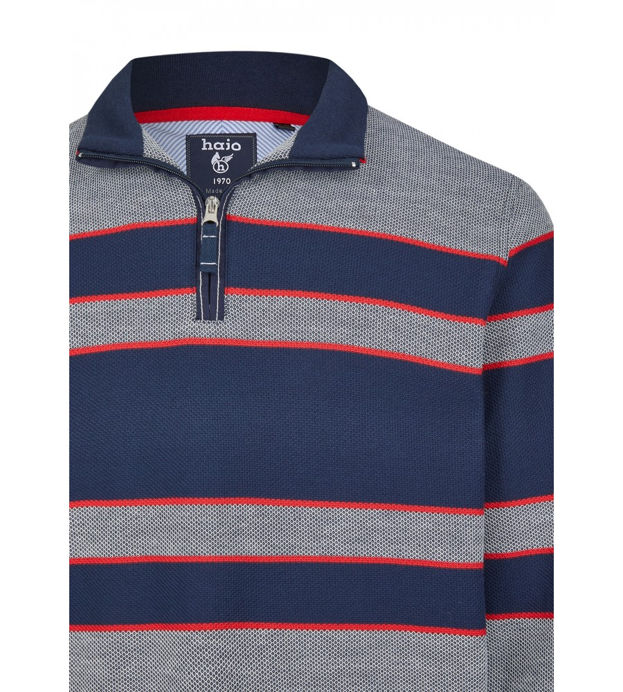 Sweatshirt mit Troyerkragen 26661-609 detail1