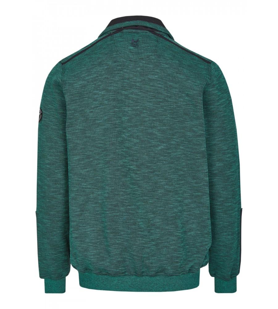 Sweatshirt mit Troyerkragen 26667-526 back