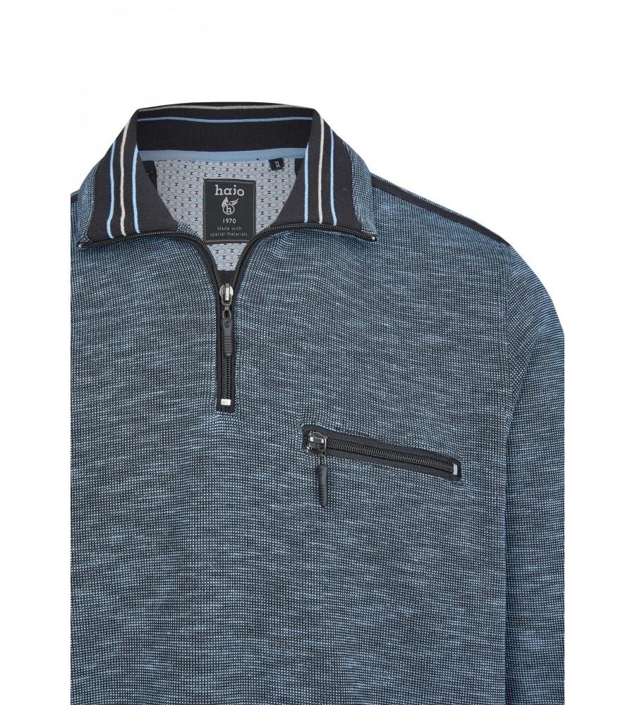 Sweatshirt mit Troyerkragen 26667-621 detail1