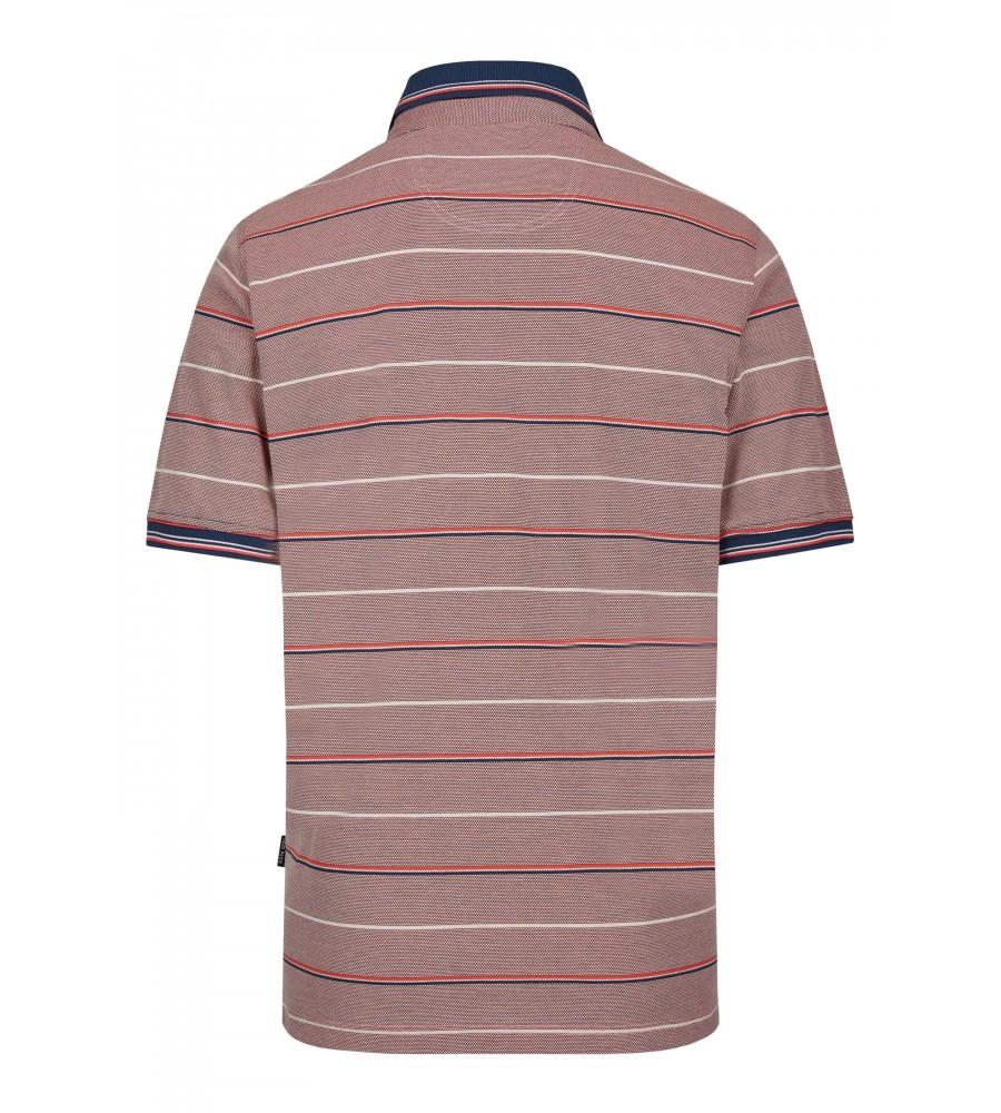 Pikee-Poloshirt in toller Zweitonoptik 26672-320 back