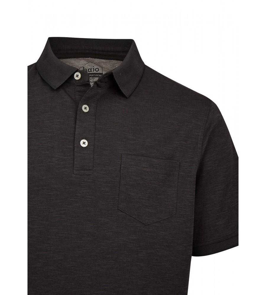 Softknit-Poloshirt mit tollem Farbeffekt 26678-100 detail1