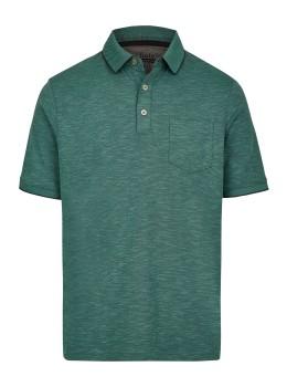 Softknit-Poloshirt mit tollem Farbeffekt