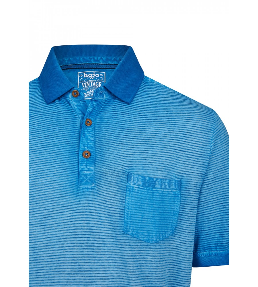 Washer-Poloshirt mit Querstruktur 26688-600 detail1