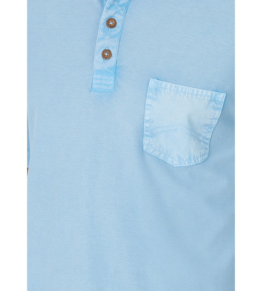 Washer-Poloshirt in Flammengarn 26689-621 back