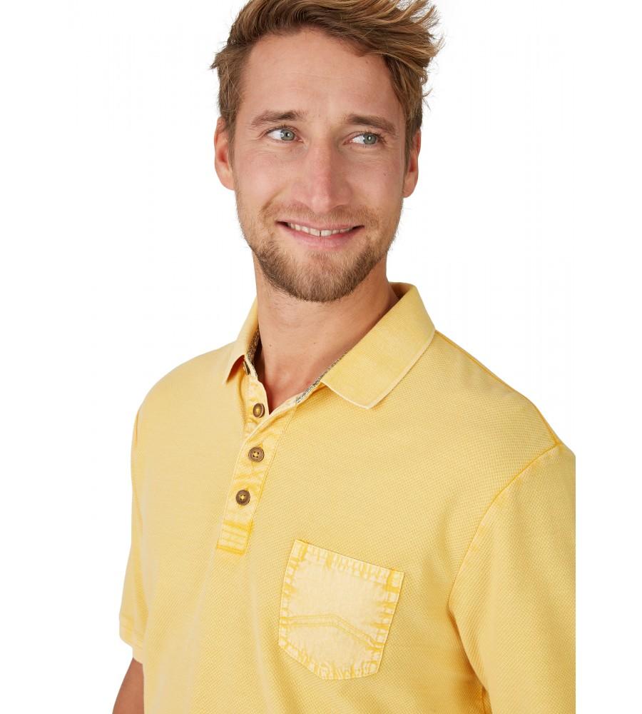 Washer-Poloshirt mit strukturierter Oberfläche 26690-352 detail1