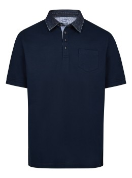 Edles Pikee-Poloshirt