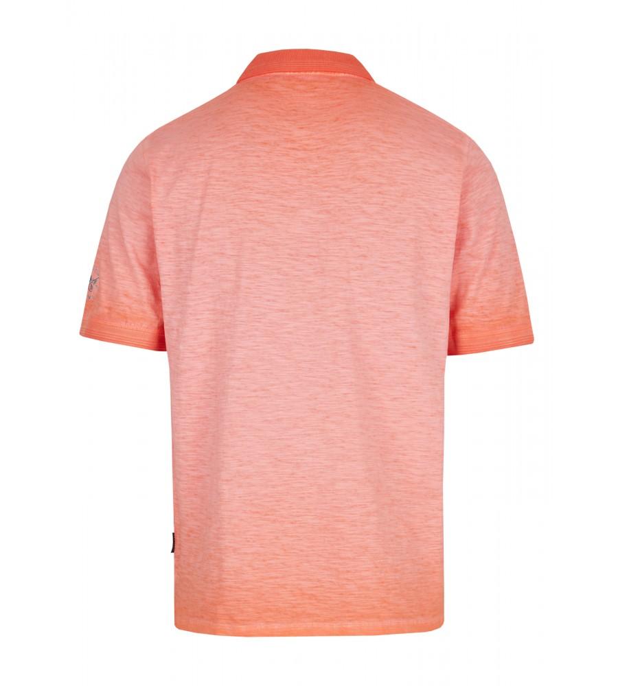 Washer-Poloshirt aus Flammengarn 26699-320 back