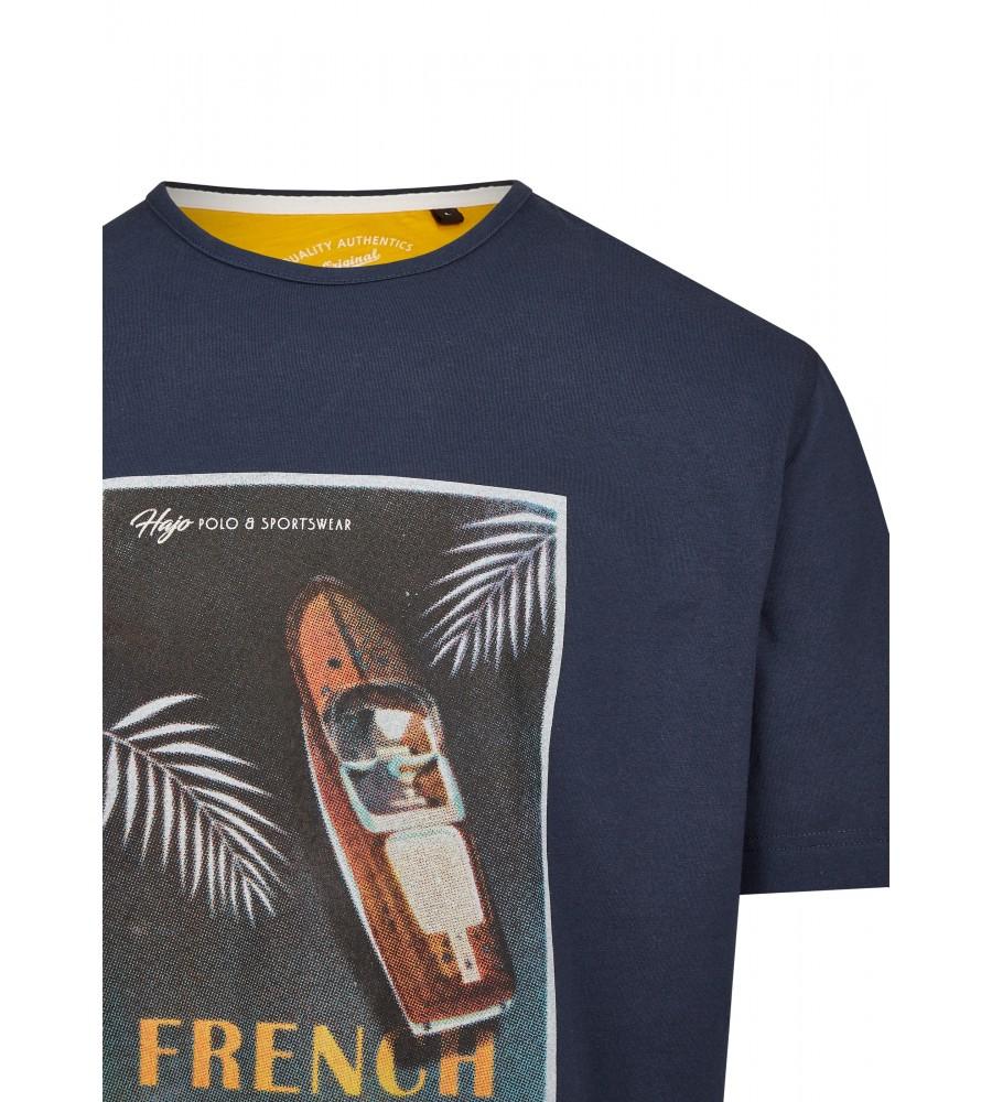 Rundhals T-Shirt mit Frontdruck 26715-609 detail1