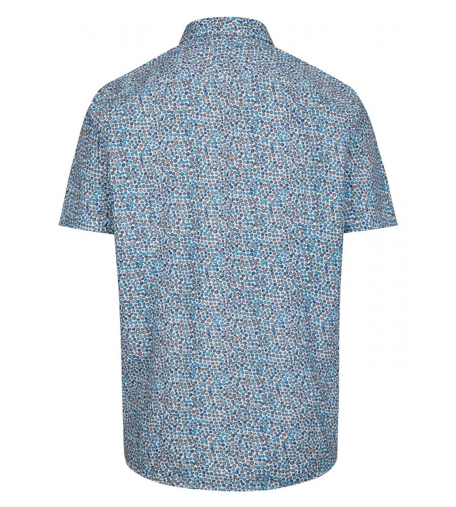 Herrenhemd mit grafischem Druck 26725-600 back