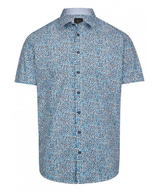 Herrenhemd mit grafischem Druck 26725-600 front