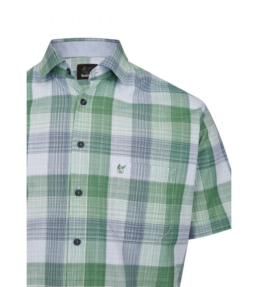 Herrenhemd mit Karodruck 26728-521 detail1
